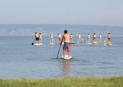 Stand Up Paddle Surfen in Podersdorf am Neusiedler See